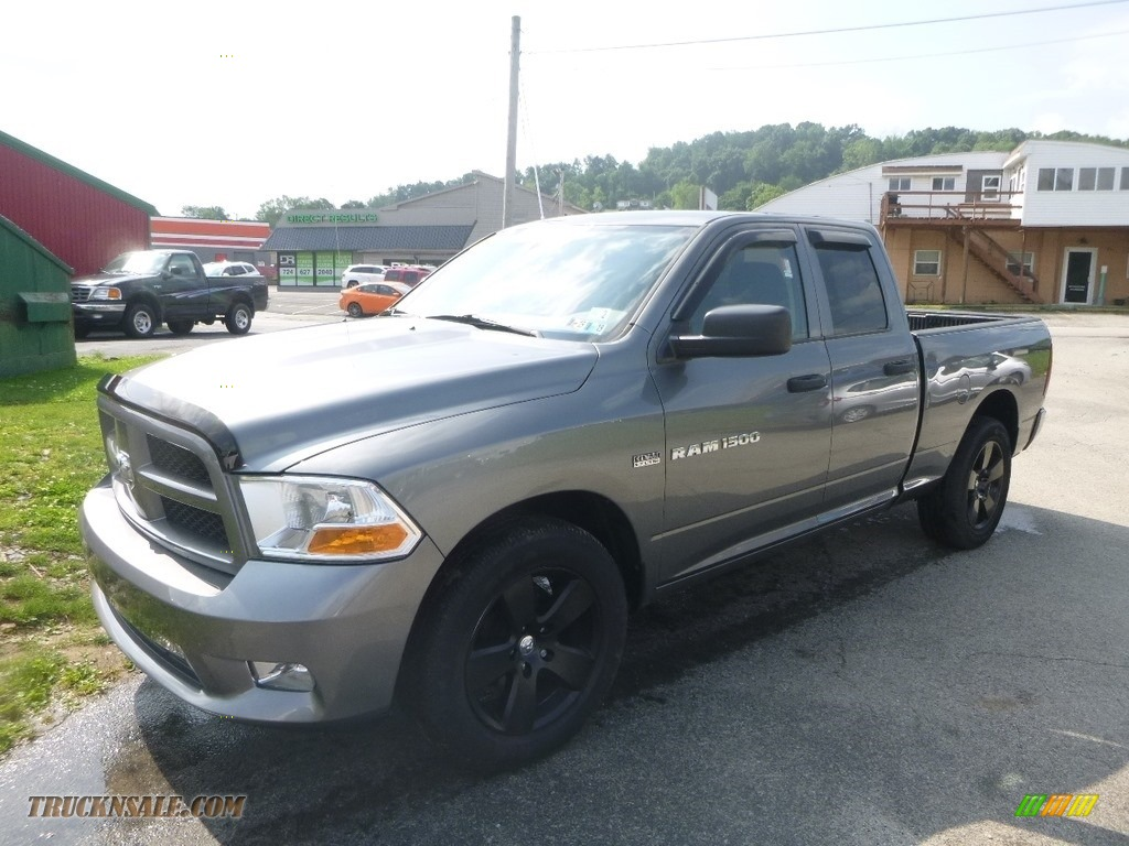 2012 Ram 1500 ST Quad Cab 4x4 - Mineral Gray Metallic / Dark Slate Gray/Medium Graystone photo #1