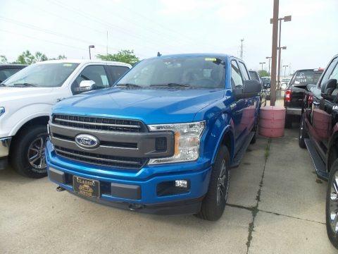 Velocity Blue 2019 Ford F150 XLT SuperCrew 4x4