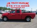 Dodge Ram 1500 ST Quad Cab Flame Red photo #2