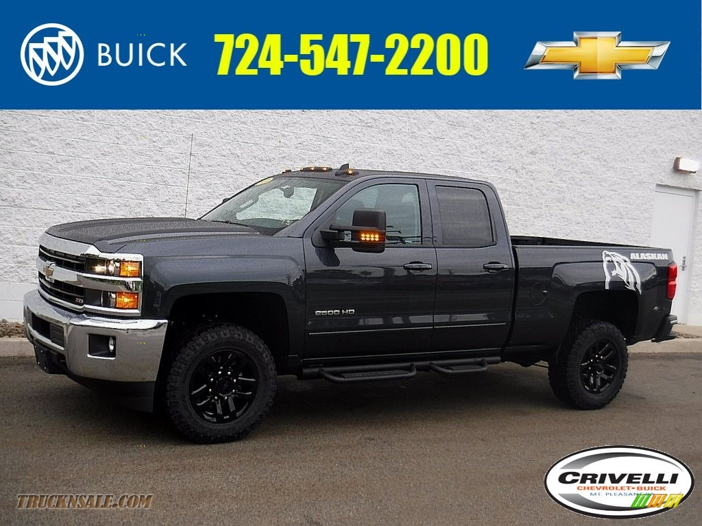 2019 Silverado 2500HD LT Crew Cab 4WD - Graphite Metallic / Jet Black photo #1