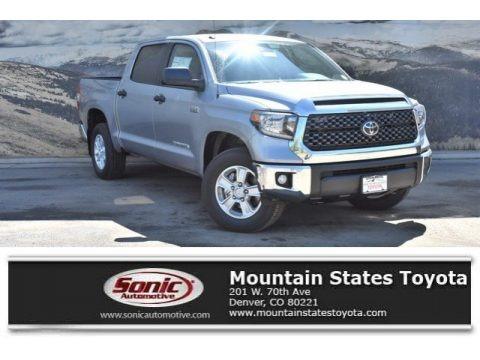 Silver Sky Metallic 2019 Toyota Tundra SR5 CrewMax 4x4