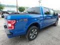 Ford F150 STX SuperCrew 4x4 Velocity Blue photo #2
