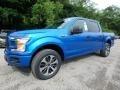 Ford F150 STX SuperCrew 4x4 Velocity Blue photo #6