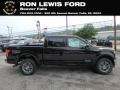 Ford F150 Lariat SuperCrew 4x4 Magma Red photo #1