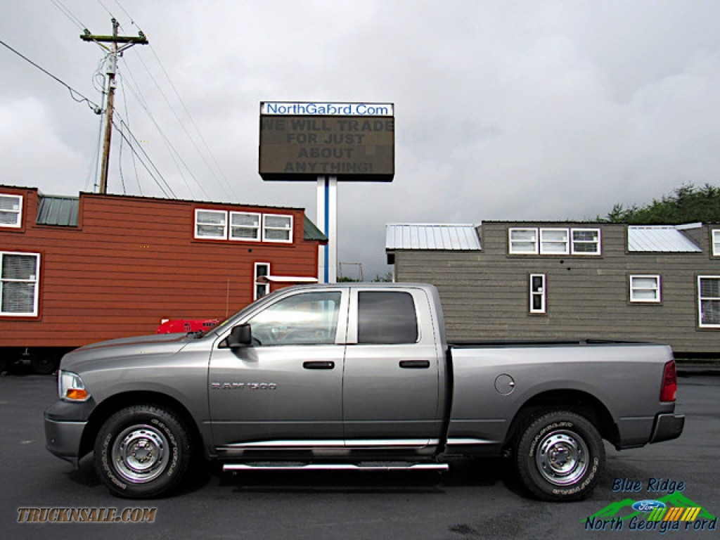 2011 Ram 1500 ST Quad Cab - Mineral Gray Metallic / Dark Slate Gray/Medium Graystone photo #2