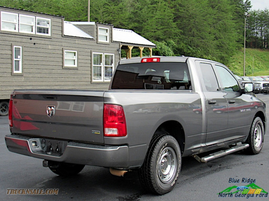 2011 Ram 1500 ST Quad Cab - Mineral Gray Metallic / Dark Slate Gray/Medium Graystone photo #5