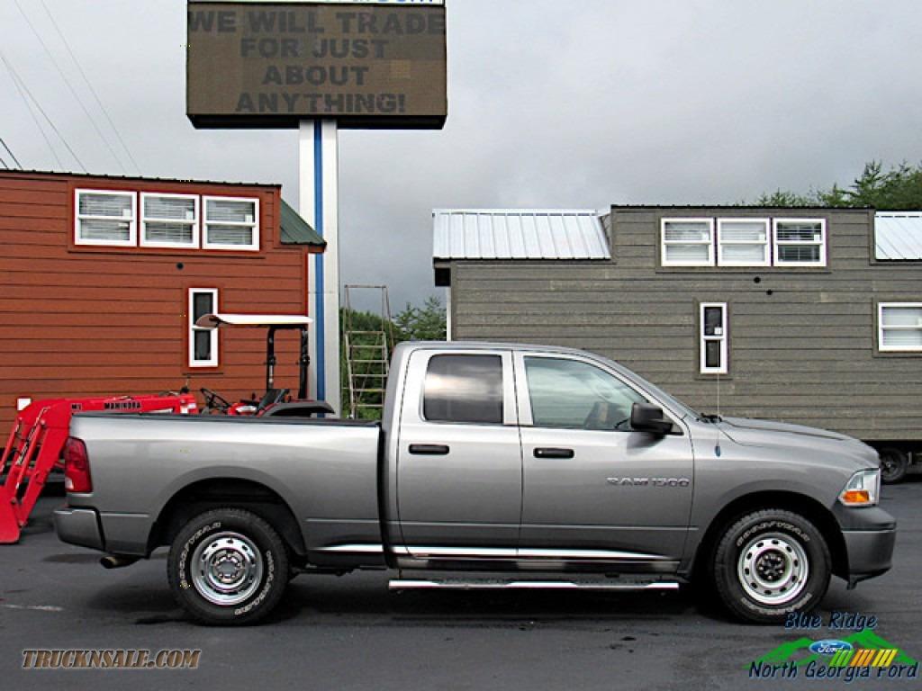 2011 Ram 1500 ST Quad Cab - Mineral Gray Metallic / Dark Slate Gray/Medium Graystone photo #6
