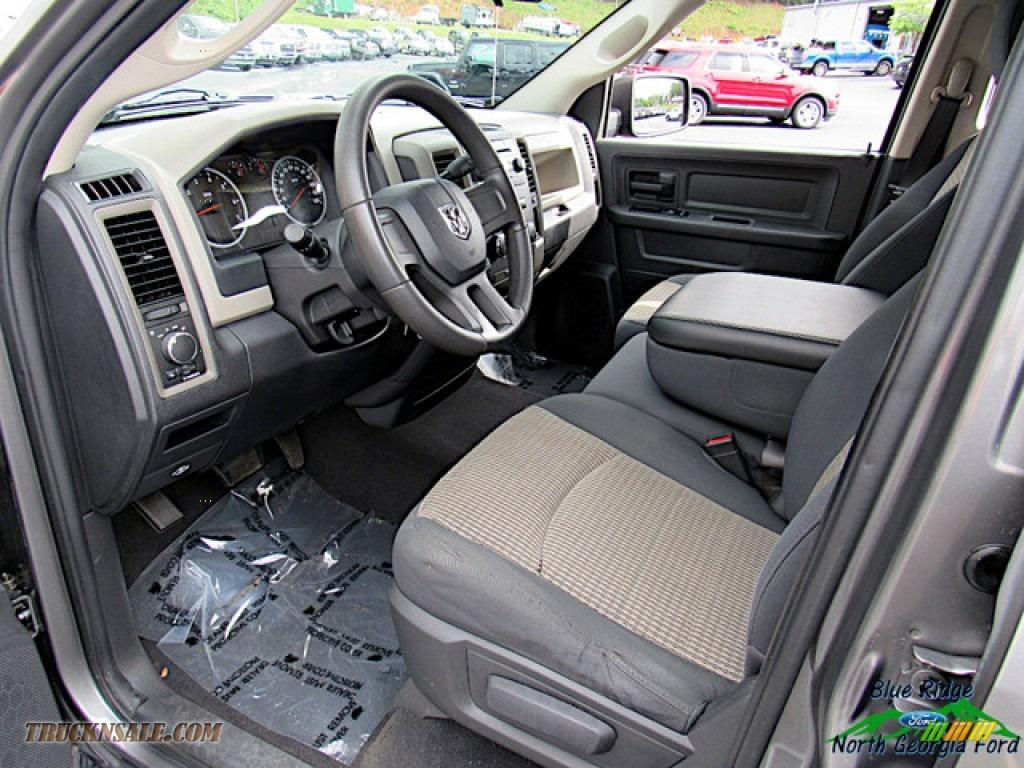 2011 Ram 1500 ST Quad Cab - Mineral Gray Metallic / Dark Slate Gray/Medium Graystone photo #26