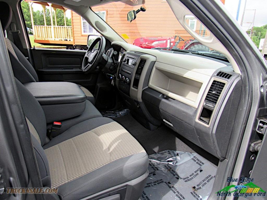 2011 Ram 1500 ST Quad Cab - Mineral Gray Metallic / Dark Slate Gray/Medium Graystone photo #27