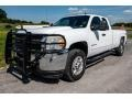 Chevrolet Silverado 2500HD LT Extended Cab 4x4 Summit White photo #8