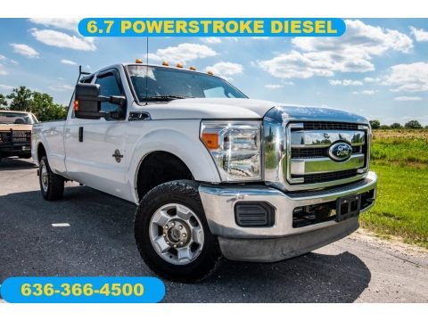 Oxford White 2012 Ford F250 Super Duty XLT SuperCab 4x4
