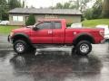 Ford F150 XLT SuperCab 4x4 Red Candy Metallic photo #1