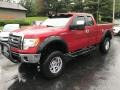 Ford F150 XLT SuperCab 4x4 Red Candy Metallic photo #2