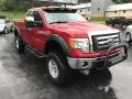 Ford F150 XLT SuperCab 4x4 Red Candy Metallic photo #4
