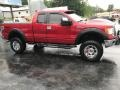 Ford F150 XLT SuperCab 4x4 Red Candy Metallic photo #5