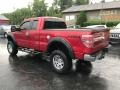Ford F150 XLT SuperCab 4x4 Red Candy Metallic photo #8