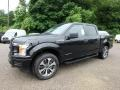 Ford F150 STX SuperCrew 4x4 Agate Black photo #6