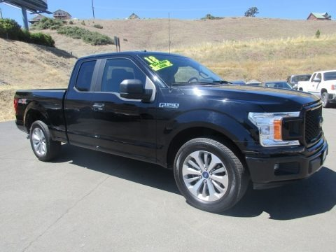 Shadow Black 2018 Ford F150 XL SuperCab