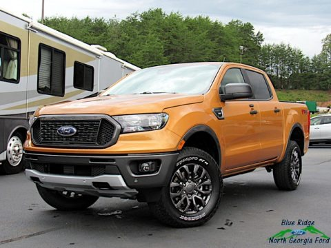 Saber Metallic 2019 Ford Ranger XLT SuperCrew 4x4