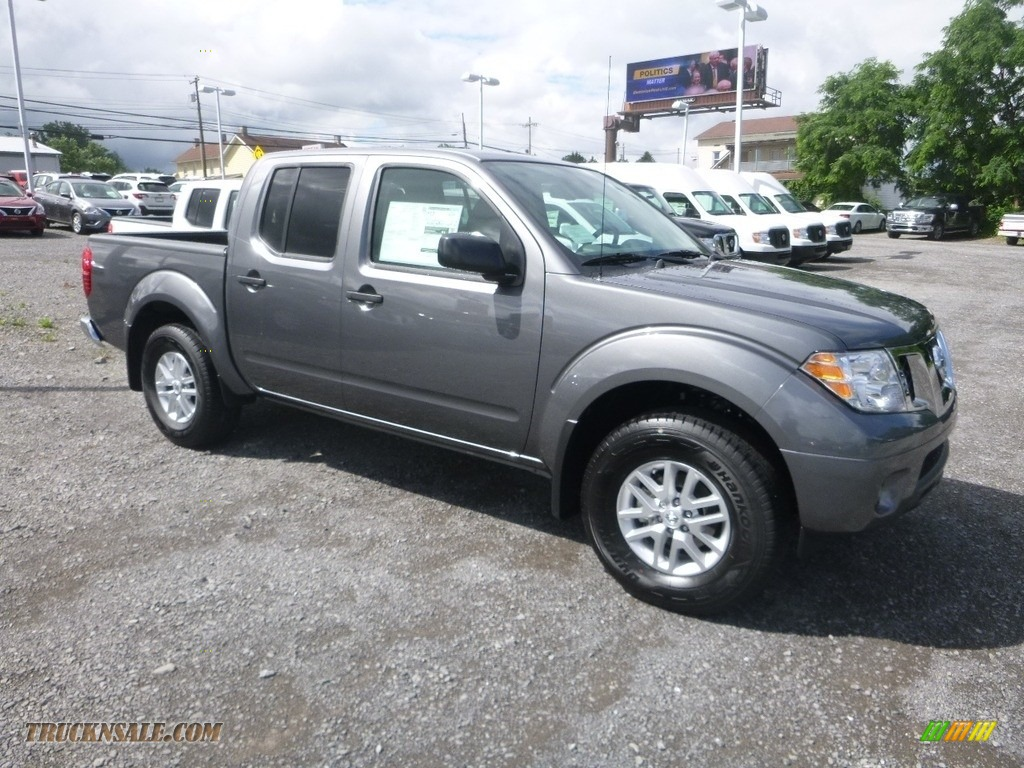 2019 Frontier SV Crew Cab 4x4 - Gun Metallic / Steel photo #1