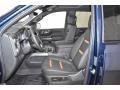 GMC Sierra 1500 AT4 Crew Cab 4WD Pacific Blue Metallic photo #7