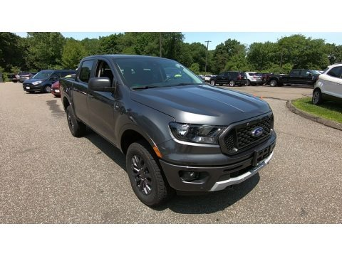 Magnetic Metallic 2019 Ford Ranger XLT SuperCrew 4x4