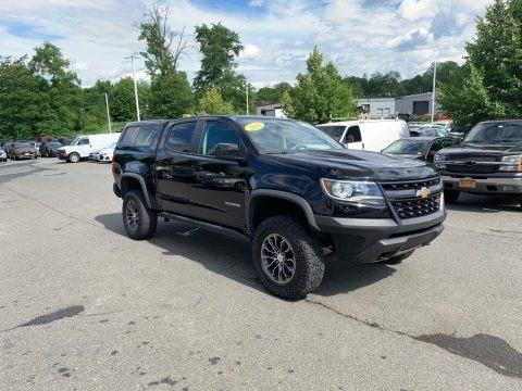 Black 2018 Chevrolet Colorado ZR2 Crew Cab 4x4
