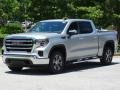 GMC Sierra 1500 SLE Crew Cab 4WD Quicksilver Metallic photo #5