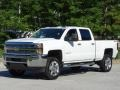 Chevrolet Silverado 2500HD Work Truck Crew Cab 4WD Summit White photo #5