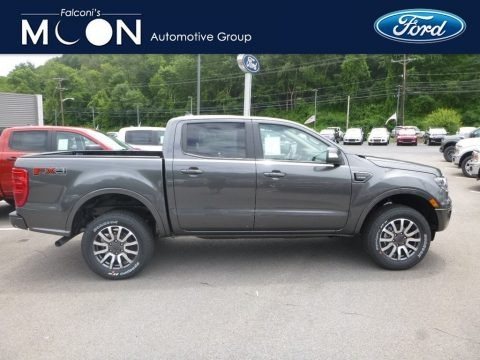 Magnetic Metallic 2019 Ford Ranger Lariat SuperCrew 4x4