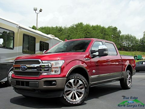 Ruby Red 2019 Ford F150 King Ranch SuperCrew 4x4