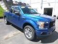 Ford F150 STX SuperCab 4x4 Lightning Blue photo #7