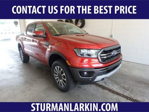 Hot Pepper Red Metallic 2019 Ford Ranger Lariat SuperCrew 4x4