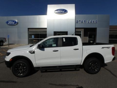 Oxford White 2019 Ford Ranger XLT SuperCrew 4x4