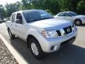 Nissan Frontier SV Crew Cab 4x4 Brilliant Silver photo #5
