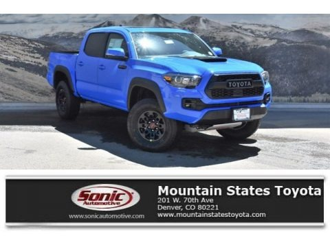 Voodoo Blue 2019 Toyota Tacoma TRD Pro Double Cab 4x4