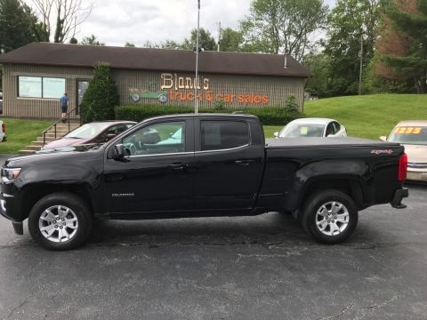 Black 2017 Chevrolet Colorado LT Crew Cab 4x4