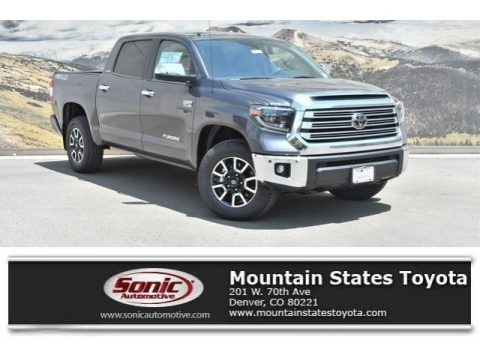Magnetic Gray Metallic 2019 Toyota Tundra Limited CrewMax 4x4