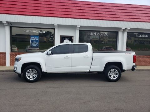 Summit White 2017 Chevrolet Colorado LT Crew Cab 4x4