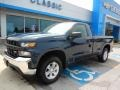 Chevrolet Silverado 1500 WT Regular Cab 4WD Northsky Blue Metallic photo #1