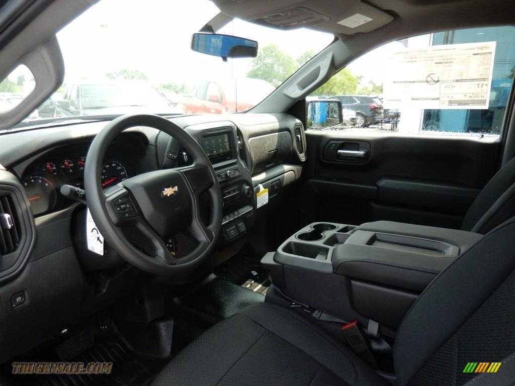 2019 Silverado 1500 WT Regular Cab 4WD - Northsky Blue Metallic / Jet Black photo #6
