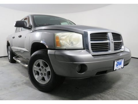 Mineral Gray Metallic 2006 Dodge Dakota SLT Quad Cab 4x4