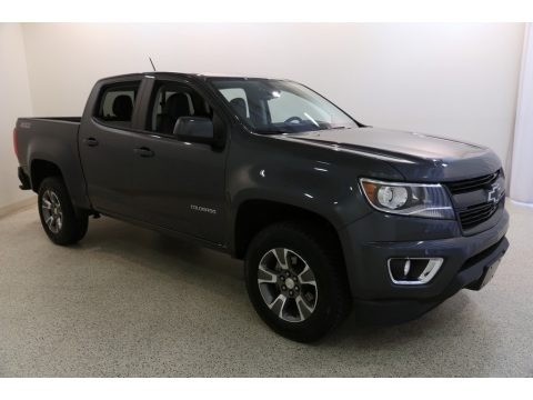 Cyber Gray Metallic 2016 Chevrolet Colorado Z71 Crew Cab 4x4