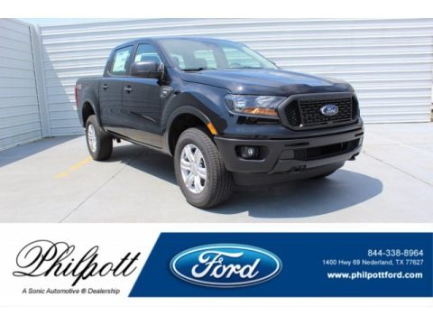 Shadow Black 2019 Ford Ranger XL SuperCrew