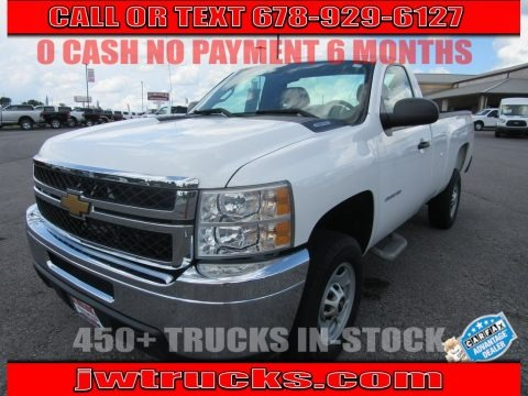Summit White 2013 Chevrolet Silverado 2500HD Work Truck Regular Cab