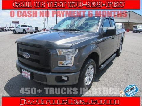 Magnetic Metallic 2015 Ford F150 XL SuperCab