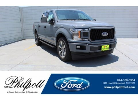 Abyss Gray 2019 Ford F150 XL SuperCrew