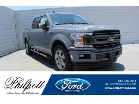 Abyss Gray 2019 Ford F150 XLT SuperCrew