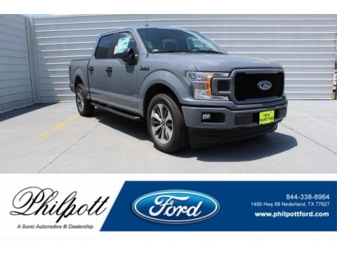 Abyss Gray 2019 Ford F150 STX SuperCrew