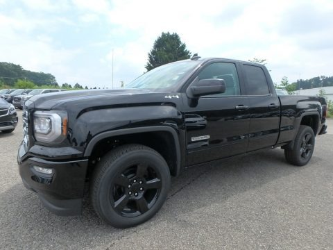 Onyx Black 2019 GMC Sierra 1500 Limited Double Cab 4WD